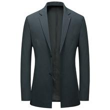 春季新款中式休閑西服男上衣單件男士上身西裝英倫單西便服外套潮
