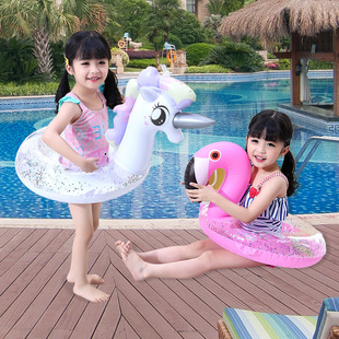 Spot ins thickened unicorn pants pocket ring baby seat ring princess horse child seat ring baby armpit ring
