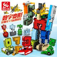 Цифровая деформационная игрушка Кинг-Конг подходит для головоломки-робота-динозавра от 3 до 5 лет, разнообразное письмо, командный костюм для мальчиков