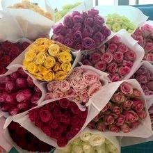 上海玫瑰鲜花同城云南昆明鲜花家庭鲜花办公室鲜花送可利鲜红玫瑰