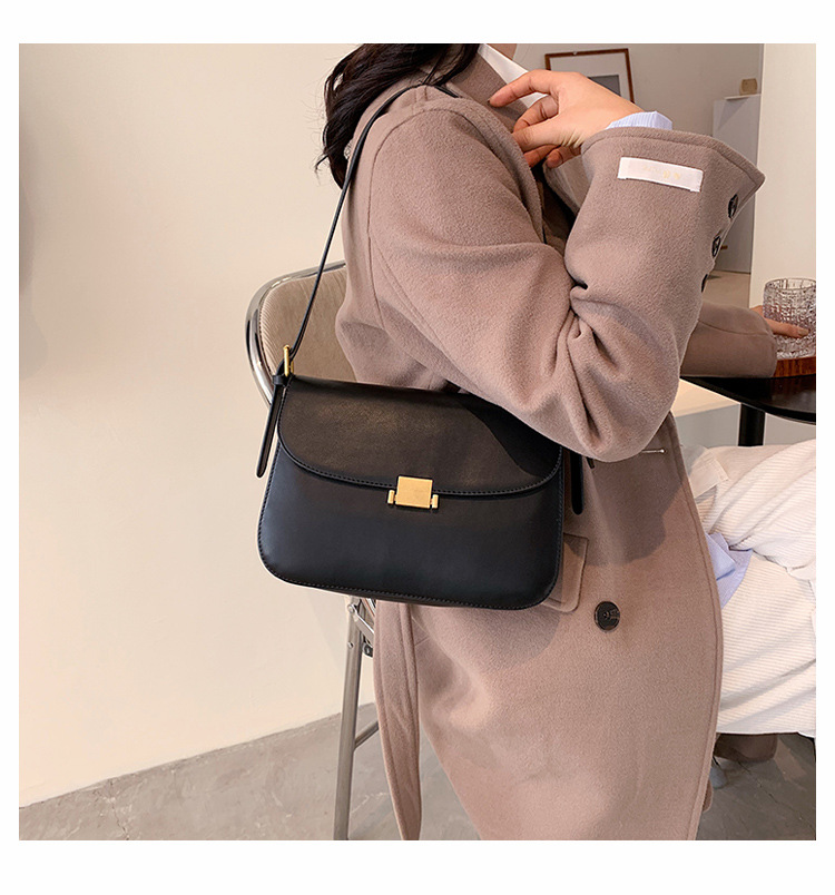 one shoulder messenger soft leather bag NHJZ285804