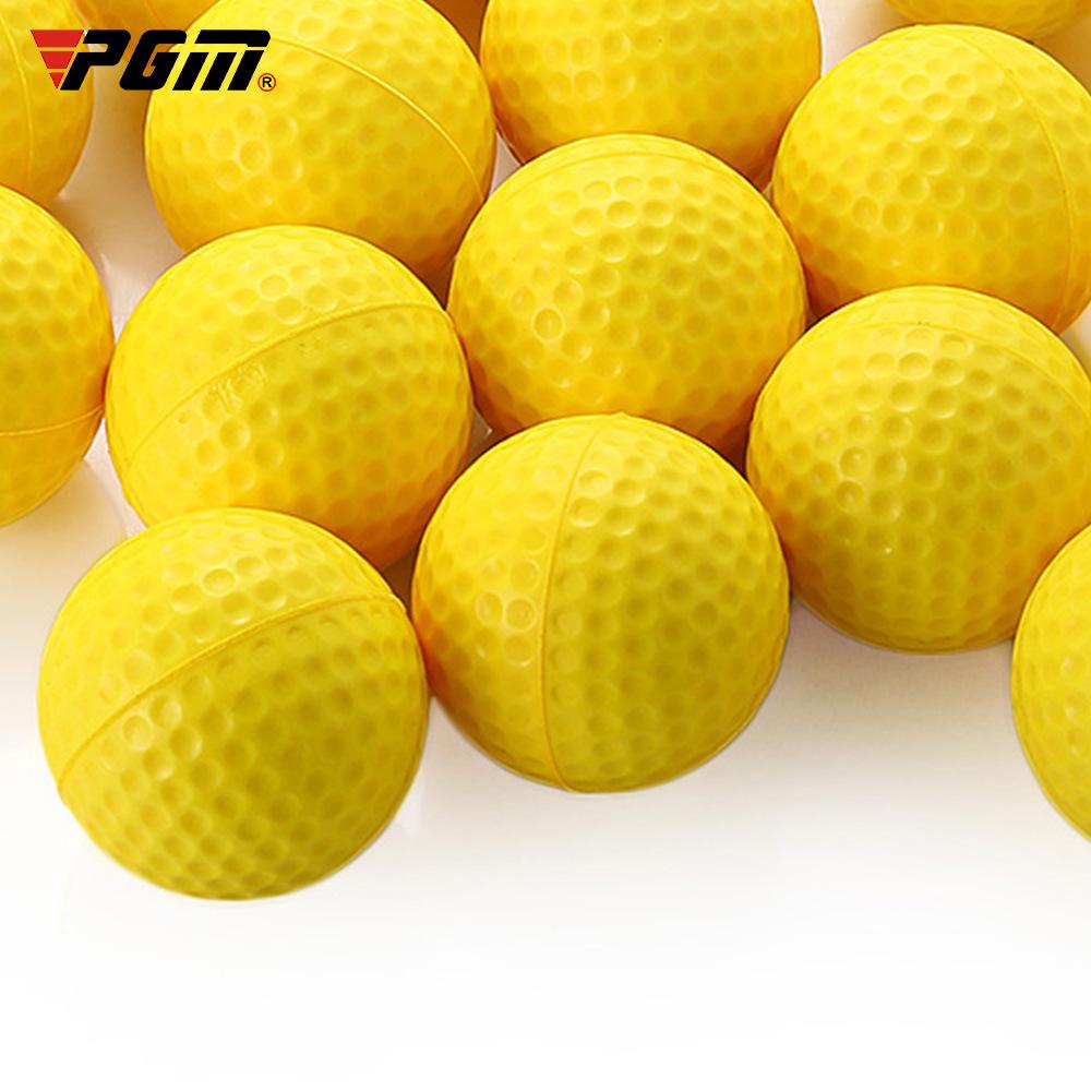 PGM 厂家直供 高尔夫球 空白pu 球 室内练习软球 现货批发