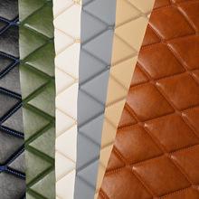 厂家直销装饰墙背景墙软包卷材材料皮革沙发床头软包硬包面料批发