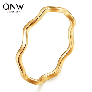 Korean official website jewelry wholesale fashion wave ring curvy knuckle ring small fresh ring wholesale