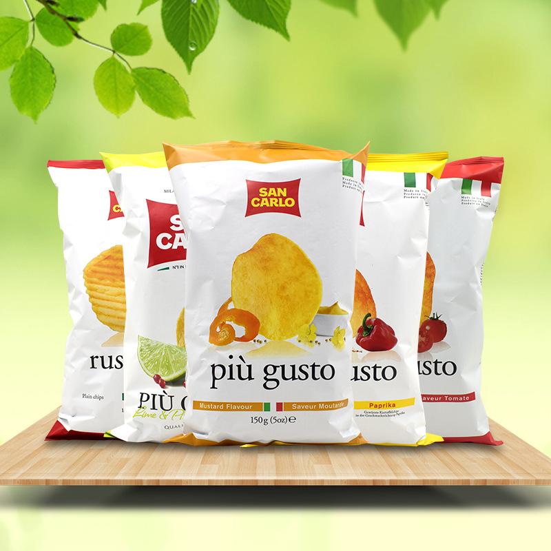 意大利进口 圣卡罗薯片150g