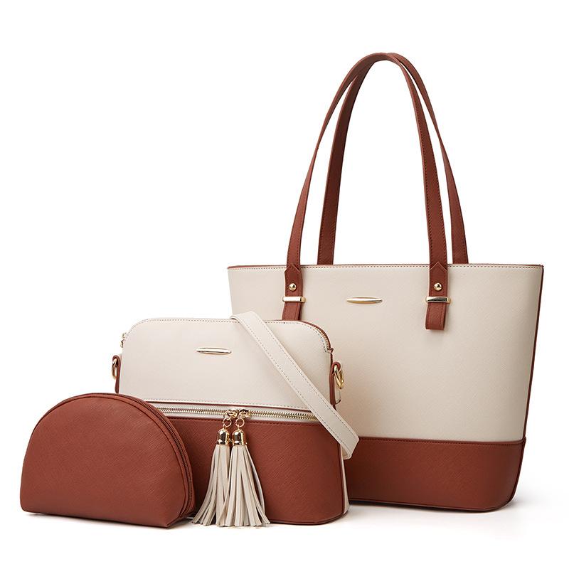 2020 نمط جديد حقيبة للأم والطفل في الغلاف الجوي من ثلاث قطع حقيبة يد قطرية عبر الحدود من المصنع للبيع بالجملة شحن واحد عبر الحدود