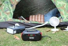 神贝220V便携式 100W交直流储能电源箱户外作业工具的应急储备箱