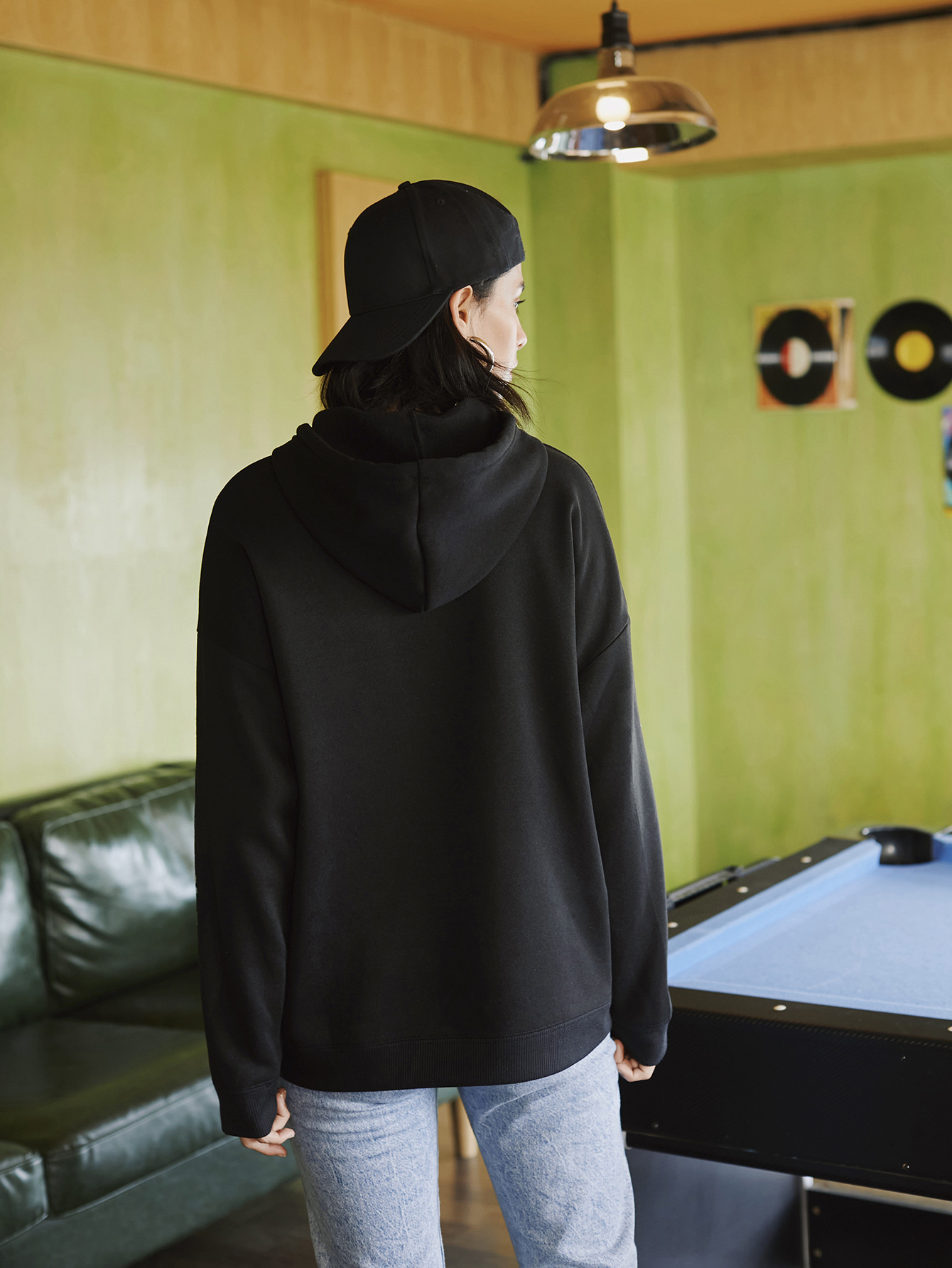 women hot autumn and winter hooded women's sweaters  NSSN375