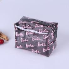 時尚透明旅行洗漱包 韓版PVC化妝包批發 護膚品收納拉鏈袋定做