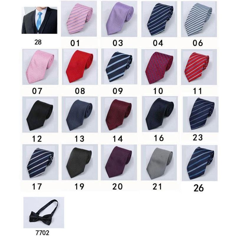 男士领带女士领花小领结蝴蝶结职业拉链领带男女同款成年新潮休闲