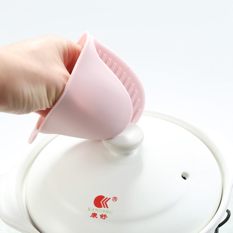 硅胶隔热烘焙防烫夹微波炉烤箱手夹厨房加厚防热耐高温防烫手套