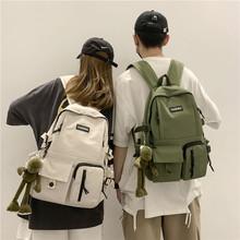 新款韩版初中学生书包原宿ulzzang学院风双肩包OEM背包定制LOGO