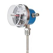 WSSX-411 双金属电接点温度计 螺纹连接  0-150℃可选 长度定制