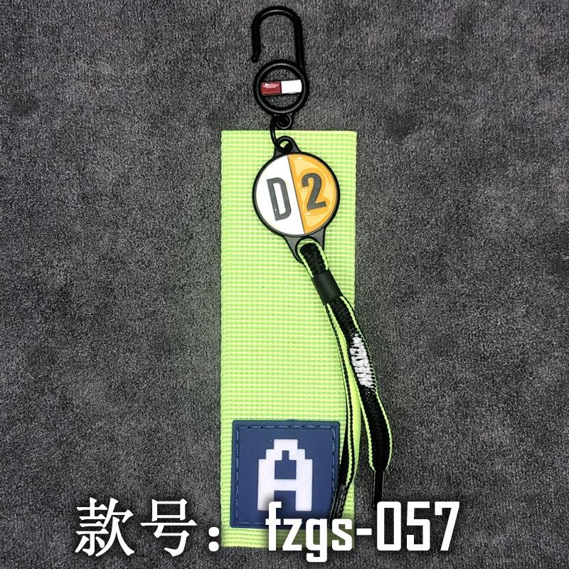 现货批发服饰辅料免费拿样DIY胶章标织带饰品挂饰挂件fzgs055-065