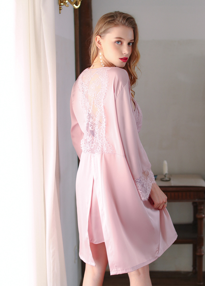 new two-piece suit breathable comfortable ladies sexy suspender pajamas NSMR7001