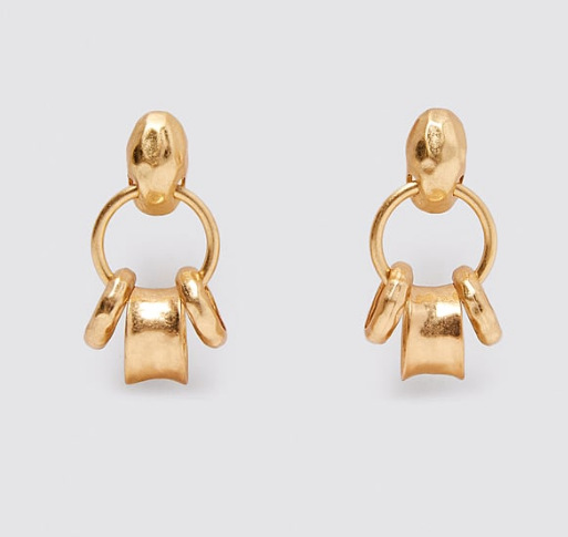 New Fashion Exaggerated Geometric Pineapple Earrings for women Wholesale NHJJ204703