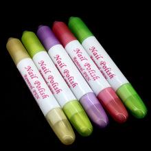 美甲卸甲笔修正笔 指缘修饰笔洗甲笔 轻松去除指甲油外溢 洗甲笔