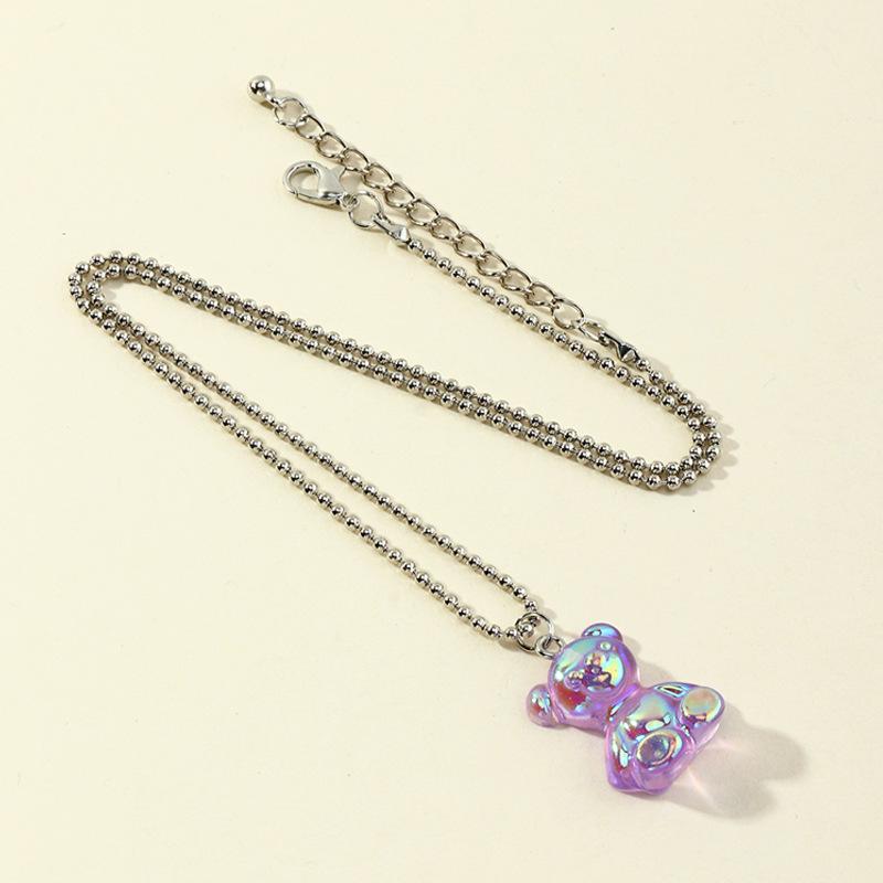 Fashion  Round Bead Chain  Necklace NHNZ281113