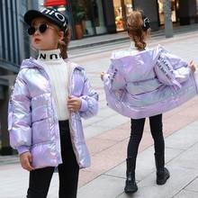 童装女童白鸭绒羽绒服女孩冬季新款2020韩版百搭连帽羽绒棉衣代发