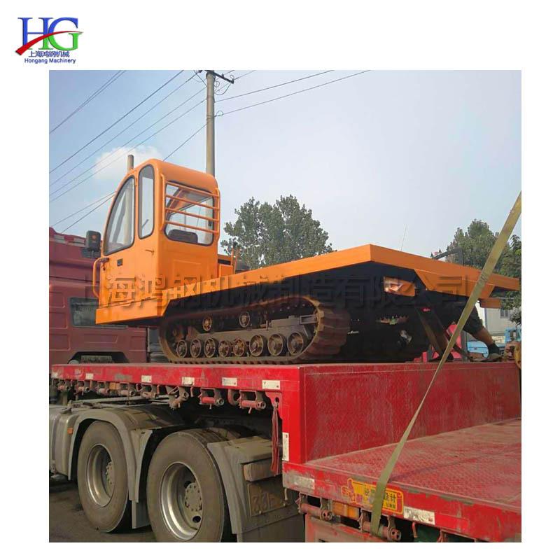 单杠小型履带运输设备 全地形橡胶履带装卸车 柴油农用山地装运车