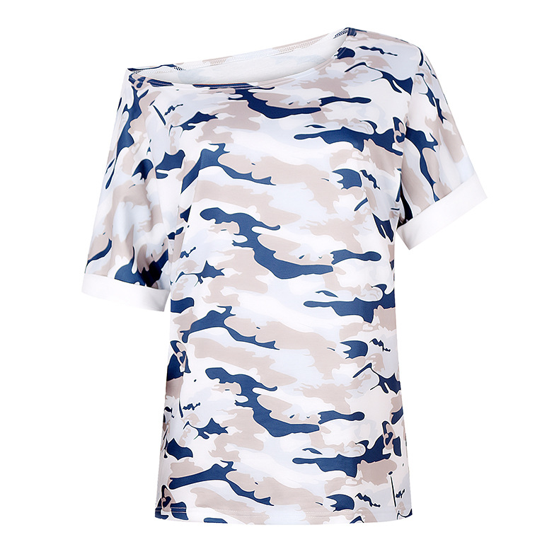 summer women's hot style loose casual printing home wear two-piece suit NSKX6062