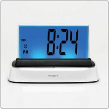 MOSHI Interactive Voice Activated &Response Alarm ClockWhite