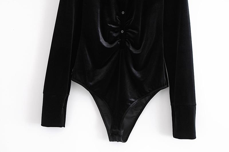 autumn velvet one-piece coat NSAM3250