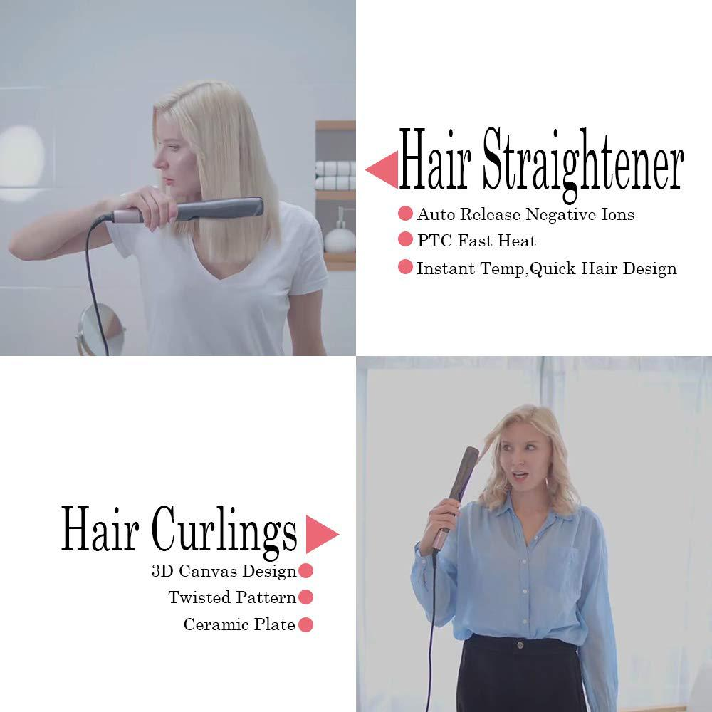 Hair-straightening-multi-style