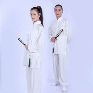 Tai Chi Clothing  female performance costume martial arts costume Taiquan costume men and women