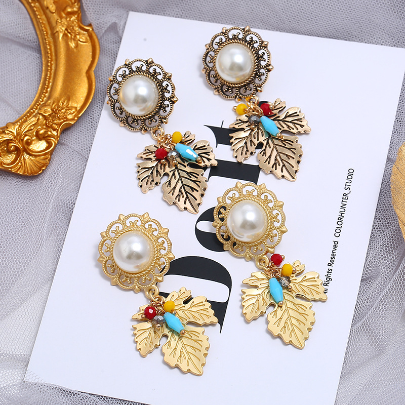 Temperament Fashion Stud Earrings Personality Asymmetric Earrings Ear Jewelry NHKQ194144