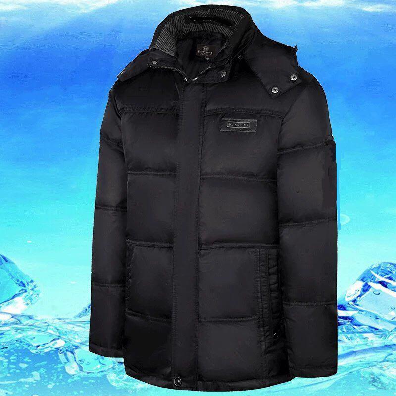 2020冬季新款加厚羽绒棉服潮流中长款男士棉衣外套外贸地摊亚马逊