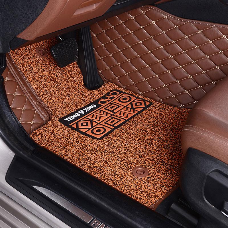 汽车脚垫全包围适用于奥迪a6l大众途观l奇骏迈腾速腾十代雅阁crv