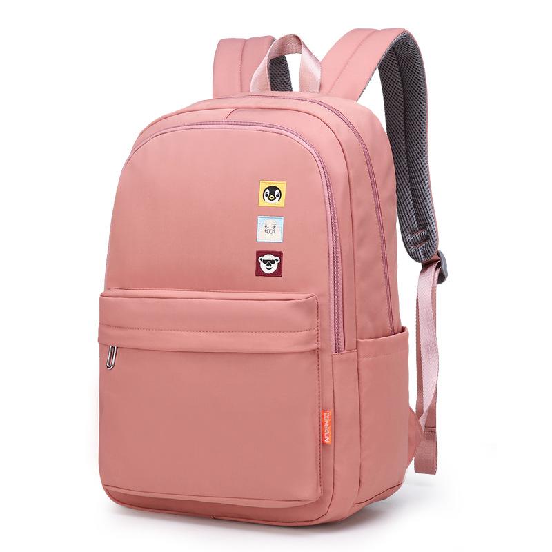 Dongrun جديد باركواي الطالب حقيبة مدرسية أوقات الفراغ للأطفال على ظهره الرجال والنساء حقيبة الكتف الطالب سعة كبيرة على ظهره