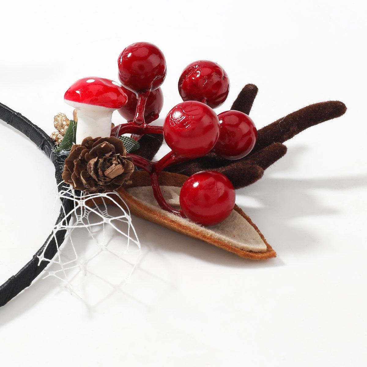 Serrette en bois de flanelle de rsine de boule de pin cratif de srie de Nol NHJE263103