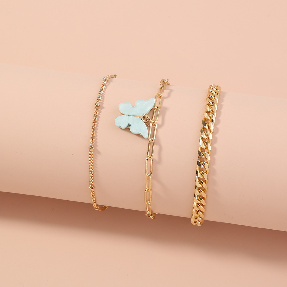 new creative simple butterfly  bracelet  NHAN270308