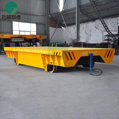 拓普利德转运输建筑工程设备工件的电缆卷线式电动平板车