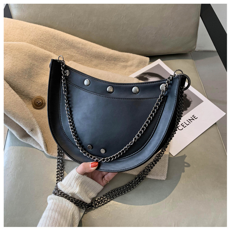 new trendy fashion chain one shoulder underarm bag NHJZ262687