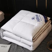 Одеяло Hilton, постельное белье для отеля, одеяло в общежитии, двойное одеяло, сердечник, подарочное зимнее одеяло, может быть выдано от имени