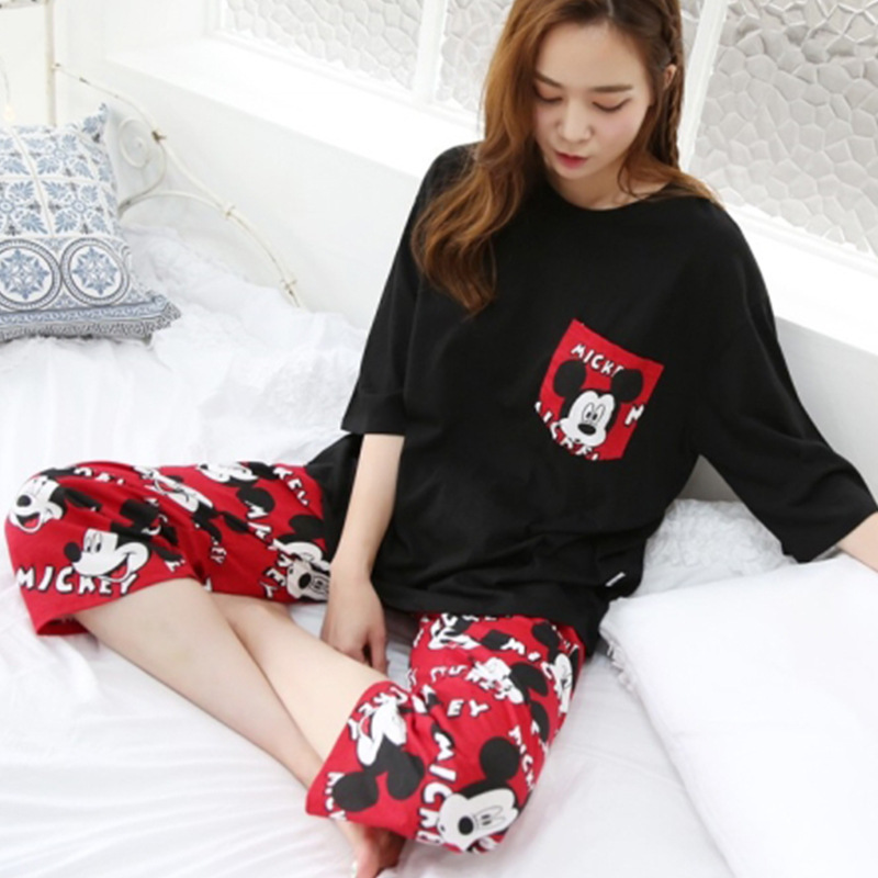 Lovely Clothes Short Sleeved Pajamas for...