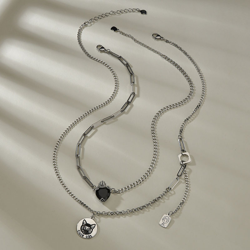 new cat necklace  NHHF286509