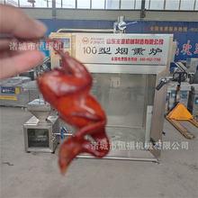 全自动红肠烧鸡熏烤箱 红肠熏蒸一体炉多少钱 沈阳熏烤烧鸡炉厂家
