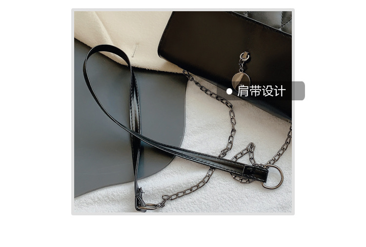fashion messenger retro single shoulder bag NHRU285742