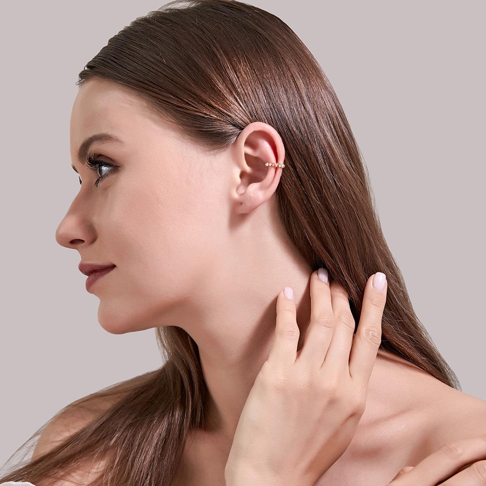 simple geometric ear bone clip  NHDP299875