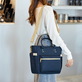 【Lunch bag】Portable zipper moisturizing convenient lunch bag Oxford cloth multi-function bento insulated lunch bag