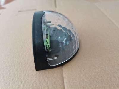 货源厂家批发太阳能壁灯户外防水庭院灯太阳能半圆光控围墙灯楼道灯批发