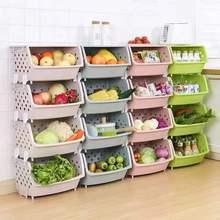 廚房置物架雙層菜籃子購物架蔬菜收納架子果蔬多層落地菜架子放菜