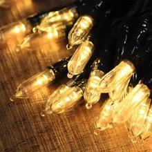 ul588认证LED拉拉泡圣诞装饰户外防水MINI STRING LIGHTS彩灯串灯