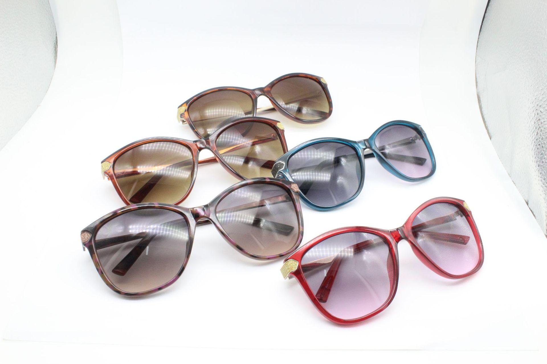 2020新款加工定制 时尚成人太阳镜大框女款 塑胶框架眼镜