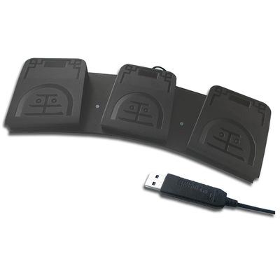 USB脚踏开关 脚踏按键 线长2米 吃鸡脚踏开关 可模拟键盘鼠标