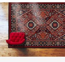 雪尼尔家用民族风波斯土耳其床边复古客厅地毯卧室美式茶几沙发垫